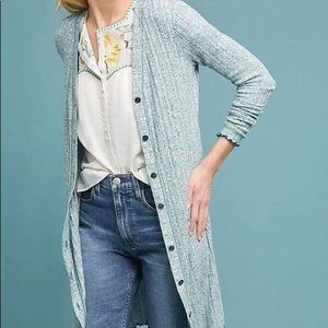 Anthropologie Akemi Kin Chateaux Long Cardigan